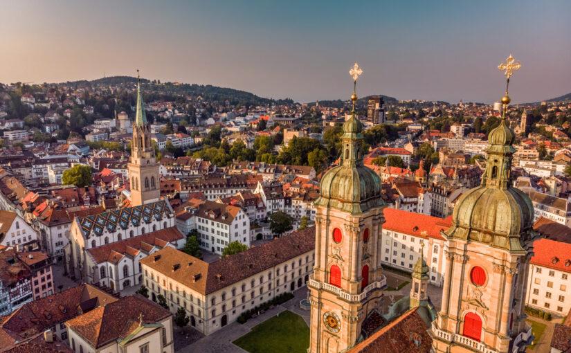 St.Gallen mit der Klosterkathedrale